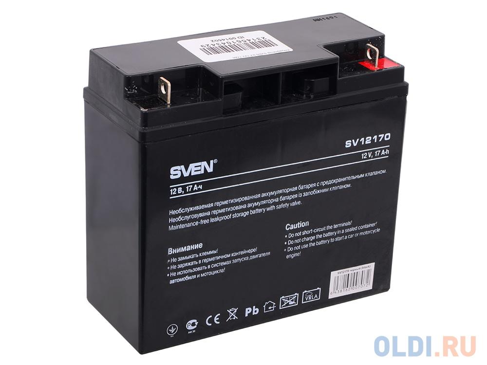 Аккумулятор SVEN SV-0222017 12V17Ah