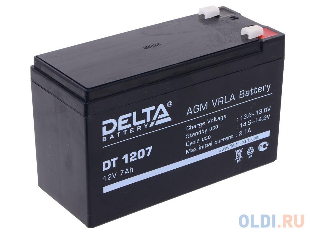 Аккумулятор Delta DT 1207 12V7Ah