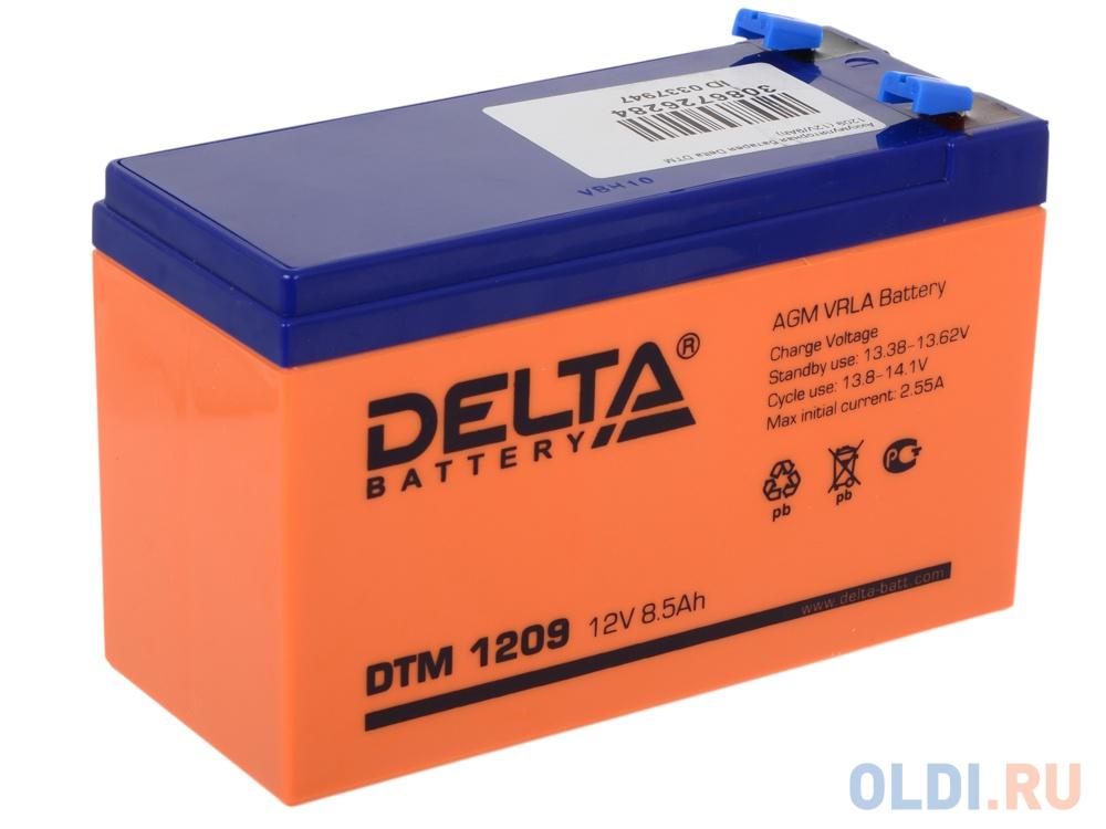Аккумулятор Delta DTM 1209 12V9Ah