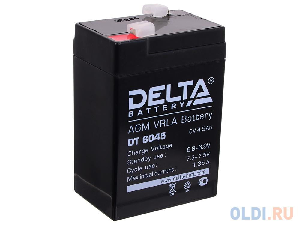 Аккумулятор Delta DT 6045 6V4.5Ah