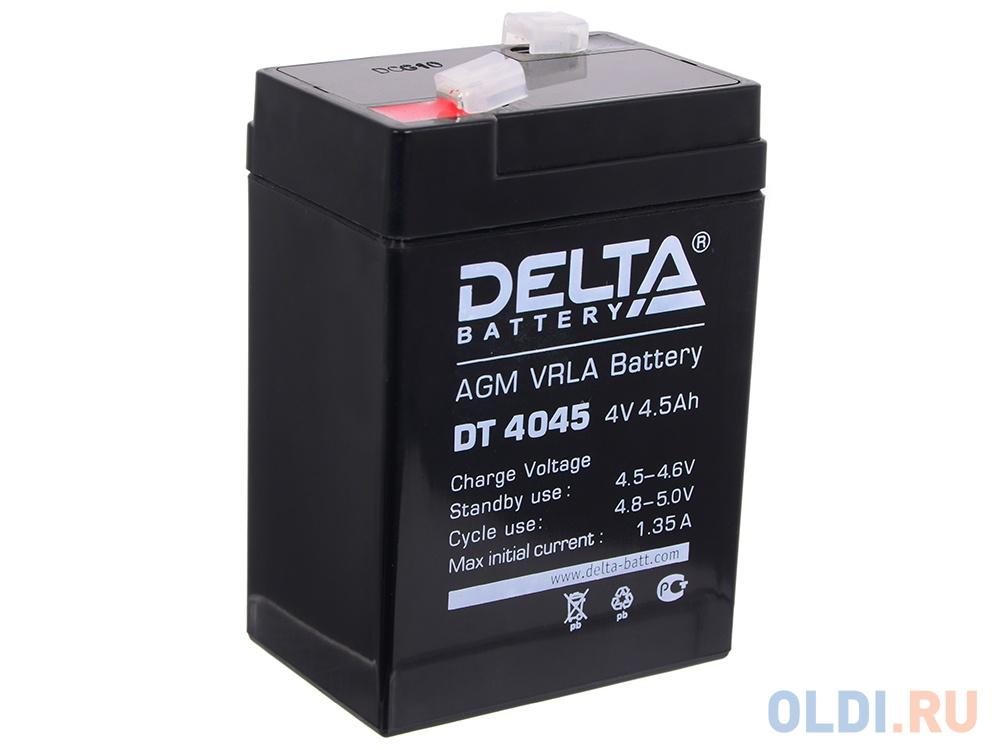 Аккумуляторная батарея DT 4045 Delta аккумулятор для ибп delta dt 4045 47 4v 4 5ah