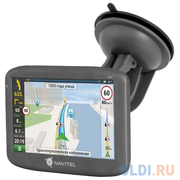 Навигатор Автомобильный GPS Navitel E505 Magnetic 5