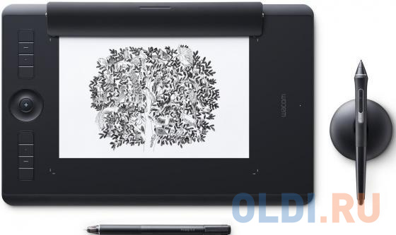 Фото - Графический планшет Wacom Intuos Pro Medium Paper PTH-660P-R графический планшет wacom intuos pro medium pth 660 r