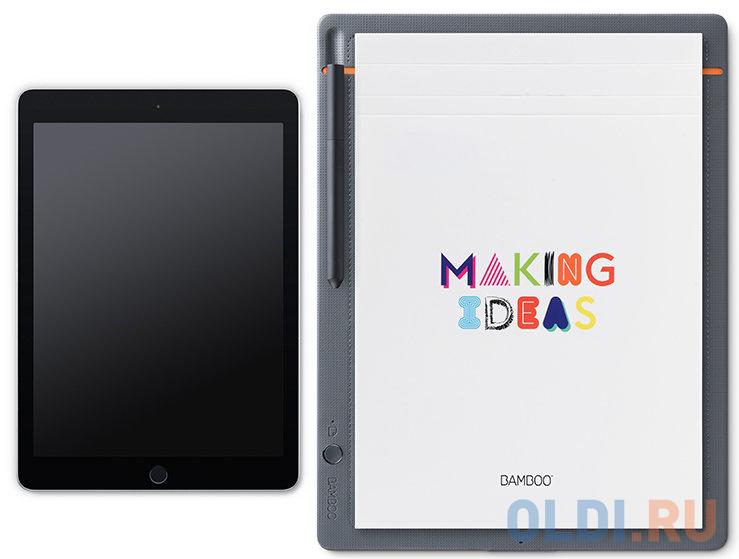 Фото - Графический планшет Wacom Bamboo Slate large CDS-810S стилус wacom bamboo duo