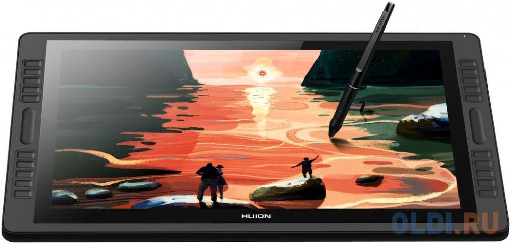 Фото - Планшет для рисования Huion Kamvas PRO 22 USB черный перо pw507 для kamvas pro 12 13 16 20