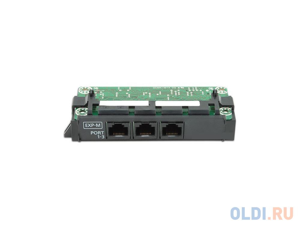 Плата расширения Panasonic KX-NS5130X ведущая плата расширения с 3-мя портами EXP-M плата isdn pri panasonic kx tda0290cj