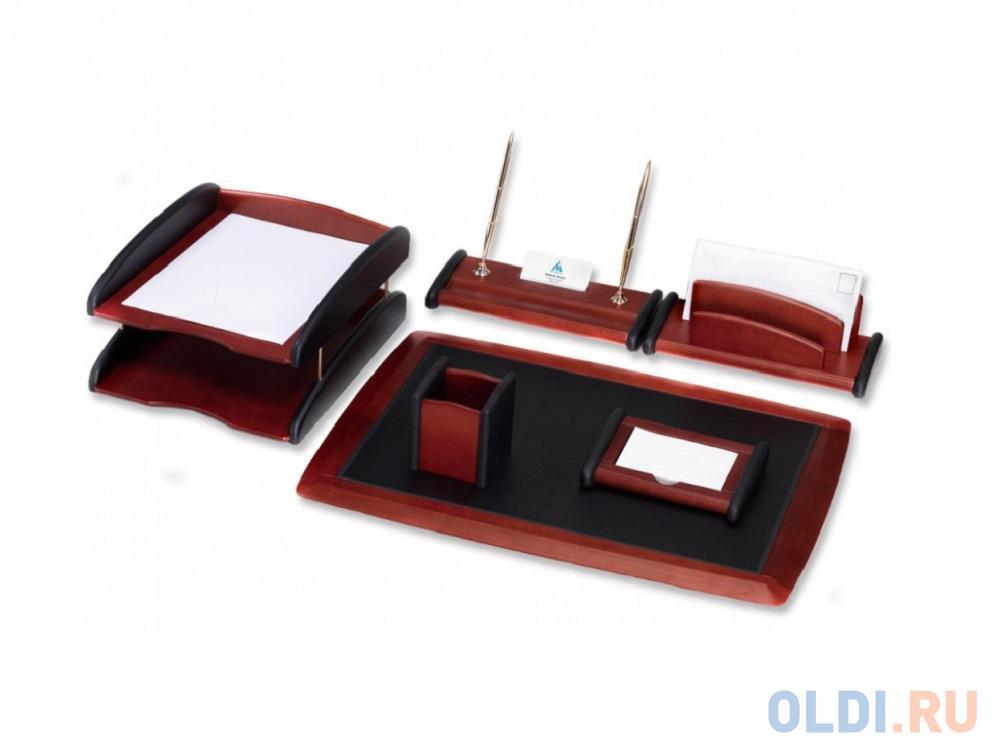 Настольный набор Good Sunrise 6 предметов красное дерево черный RS6M-1A.