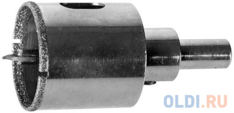 Коронка алмазная ЗУБР 29850-73  ЭКСПЕРТ в сборе по кафелю керамике P60 73мм.