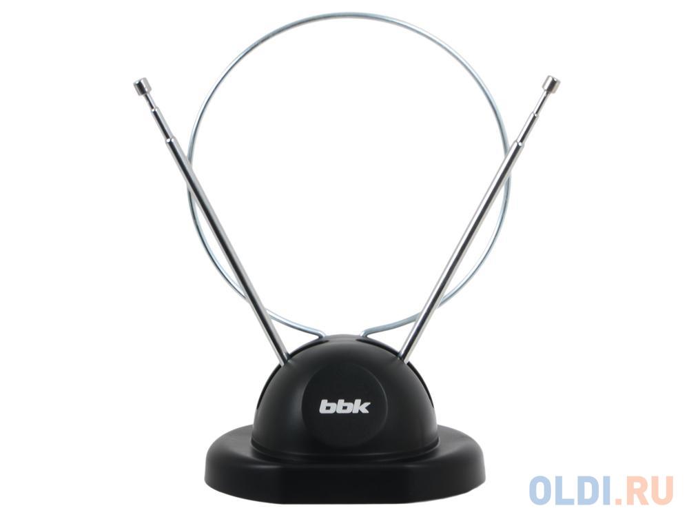 Телевизионная антенна BBK DA02 Комнатная цифровая DVB-T антенна, черный