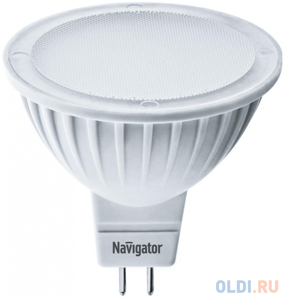 Лампа светодиодная рефлекторная Navigator NLL-MR16-5-230-4K-GU5.3 ( 94 129) GU5.3 5W 4000K