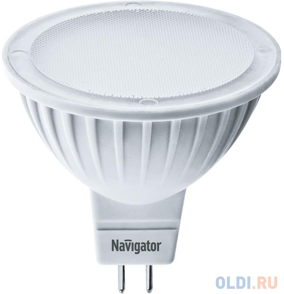 Лампа светодиодная рефлекторная Navigator 94 262 NLL-MR16-5-12-3K-GU5.3 GU5.3 3.5W 3000K 94262