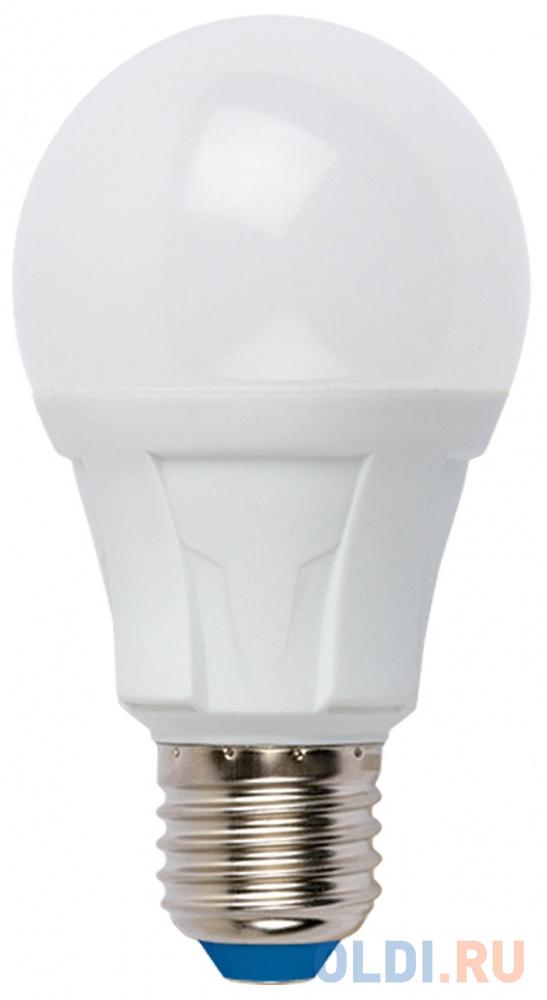 Лампа светодиодная груша Uniel UL-00001525 E27 10W 4000K LED-A60 10W/NW/E27/FR PLP01WH