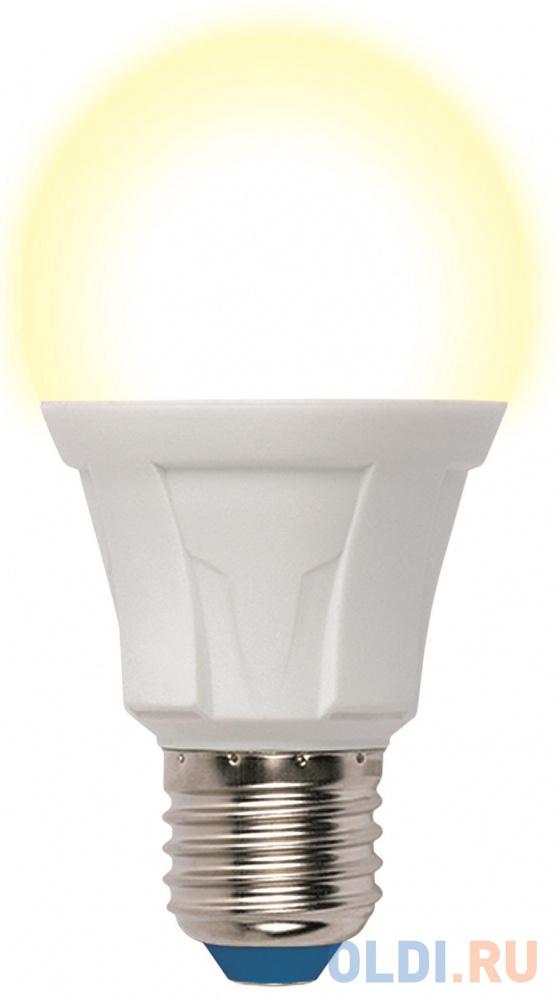 Лампа светодиодная груша Uniel LED-A60 13W/3000K/E27/FR PLP01WH E27 13W 3000K
