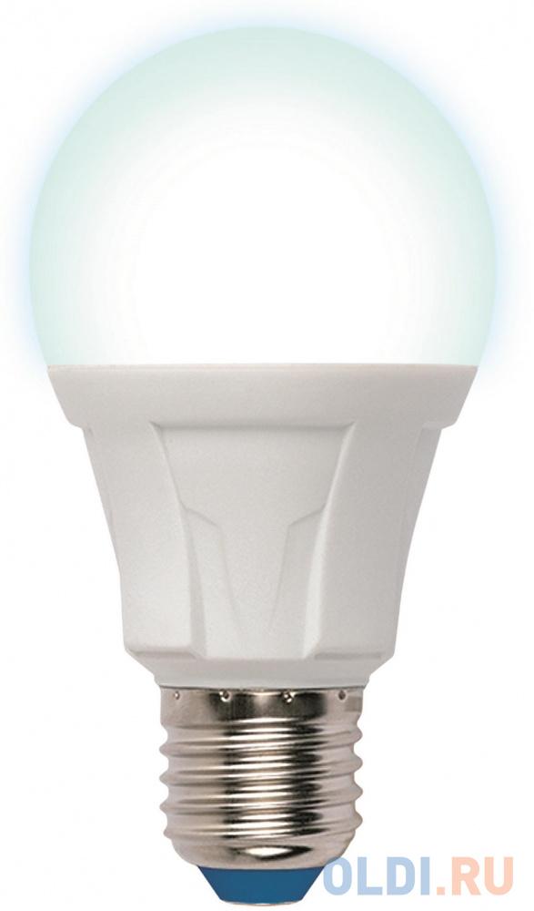 Лампа светодиодная груша Uniel LED-A60 13W/4000K/E27/FR PLP01WH E27 13W 4000K