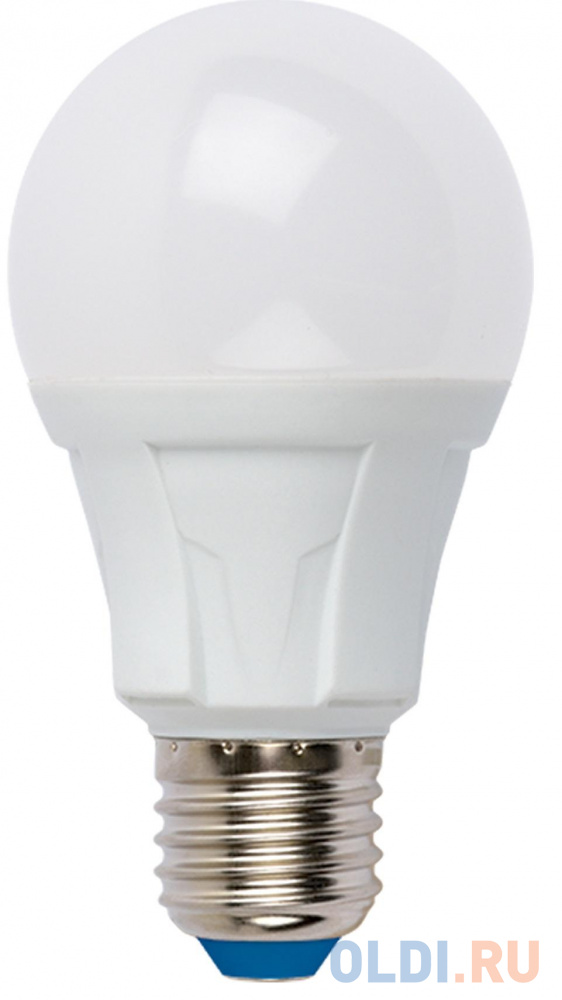 Лампа светодиодная груша Uniel UL-00001522 E27 8W 3000K LED-A60 8W/WW/E27/FR PLP01WH