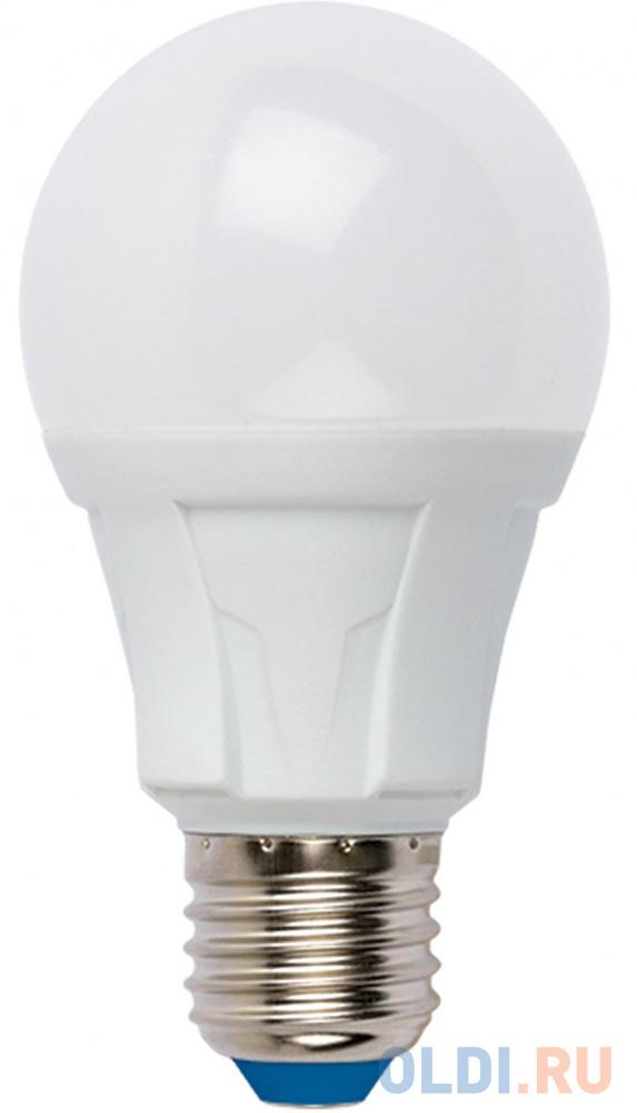 Лампа светодиодная груша Uniel UL-00001523 E27 8W 4000K LED-A60 8W/NW/E27/FR PLP01WH