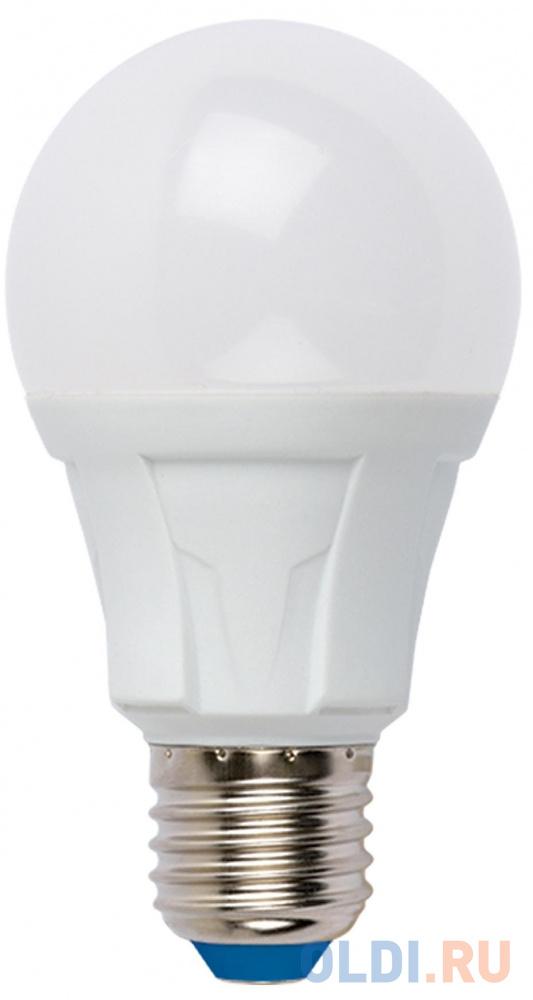 Лампа светодиодная груша Uniel UL-00001527 E27 12W 4000K LED-A60 12W/NW/E27/FR PLP01WH