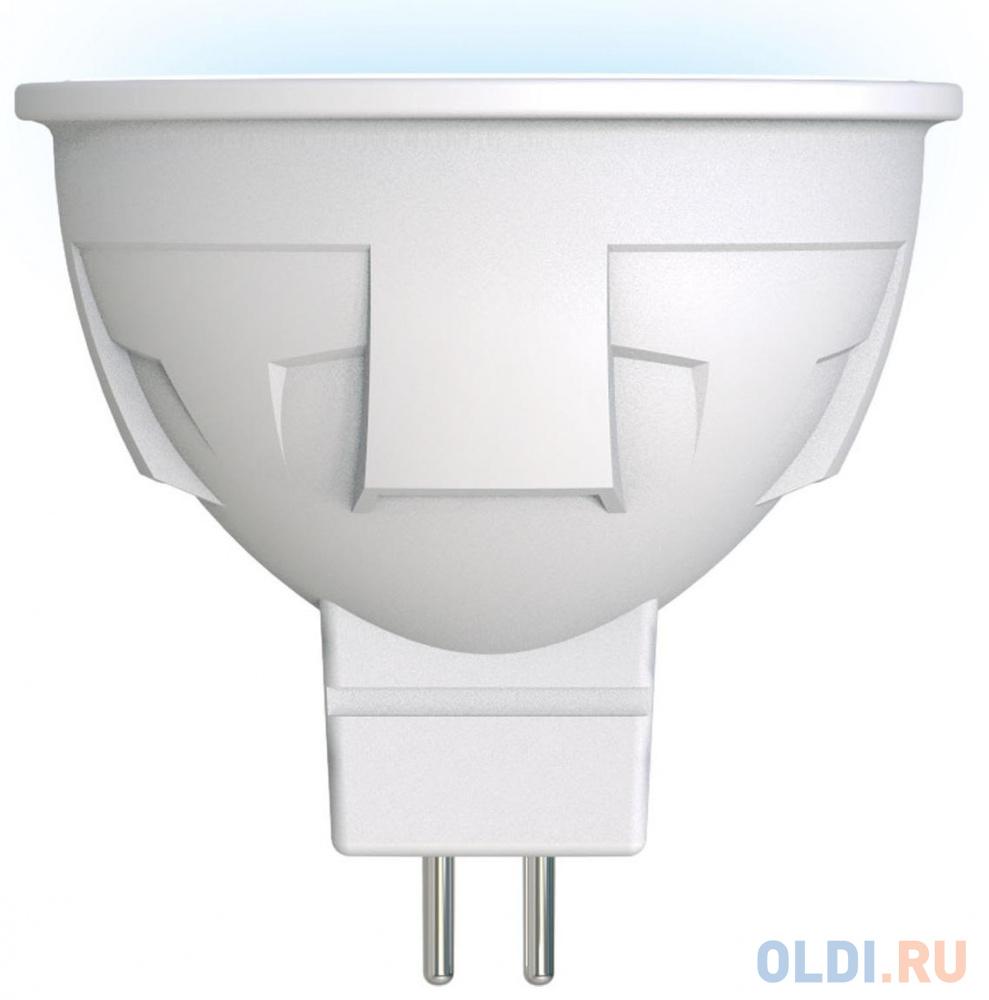 Лампа светодиодная полусфера Uniel LED-JCDR 6W/NW/GU5.3/FR PLP01WH GU5.3 6W 4000K UL-00002422