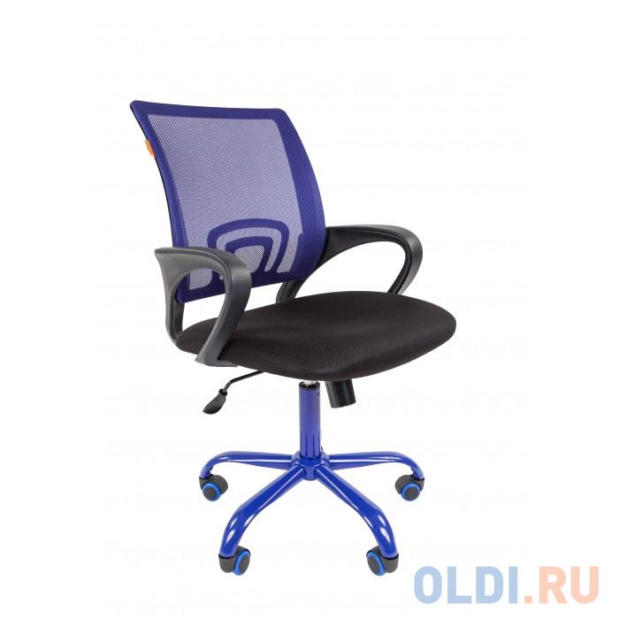 Офисное кресло Chairman 696 синий/CMet