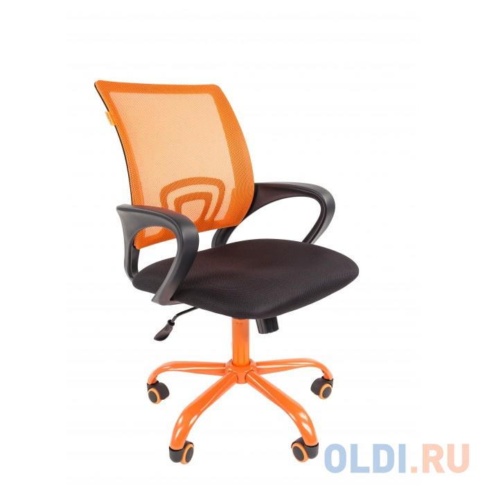 Офисное кресло Chairman 696 оранжевый/CMet