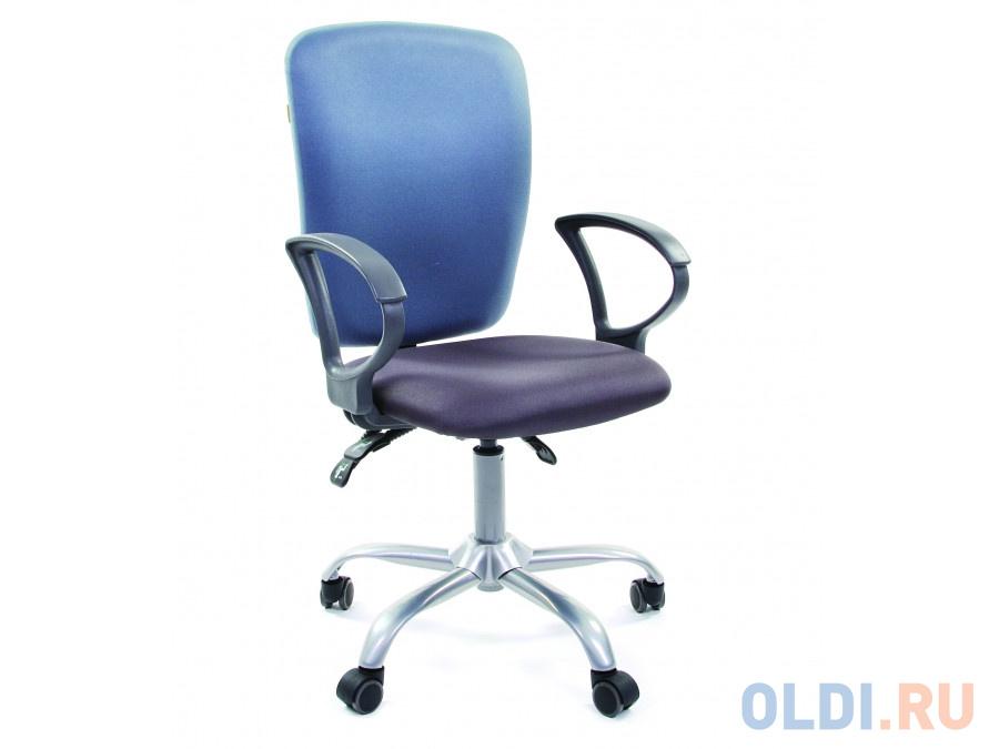 Офисное кресло Chairman 9801 Россия сид 15-13 серый/сп 15-41 голубой