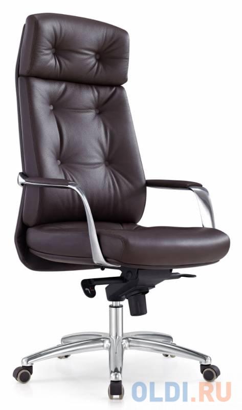 Кресло Бюрократ _DAO/BROWN коричневый