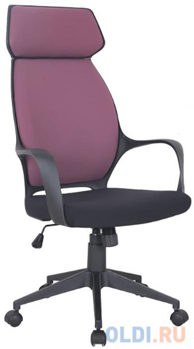 Кресло офисное BRABIX Galaxy EX-519, ткань, черное/терракотовое, 531570