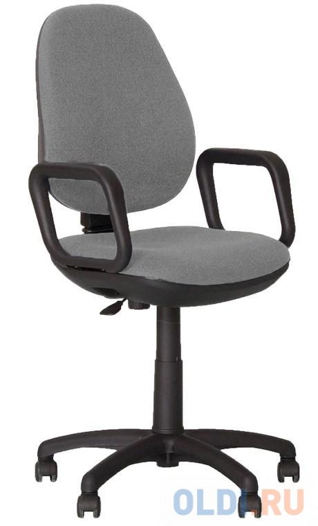 Кресло офисное Comfort GTP с подлокотниками, серое ZT-13