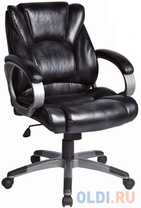Кресло офисное BRABIX Eldorado EX-504, экокожа, черное, 530874 кресло офисное brabix maestro ex 506 экокожа черное 530877