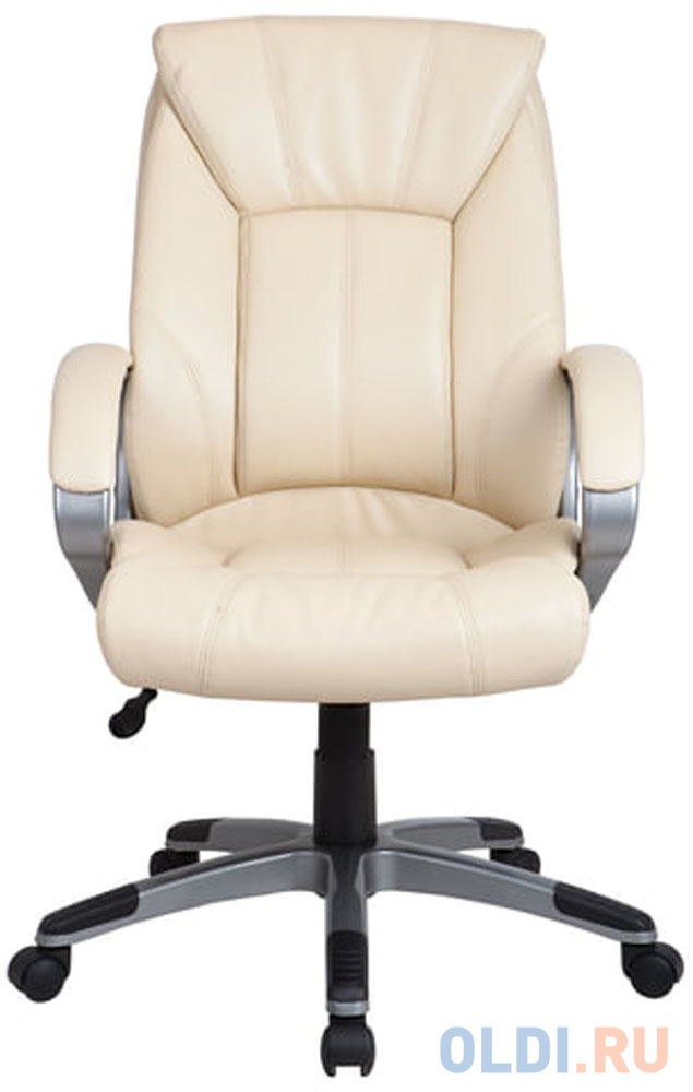 Кресло офисное BRABIX Maestro EX-506, экокожа, бежевое, 531168