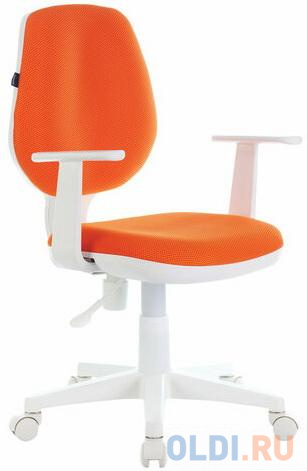 "Кресло BRABIX ""Fancy MG-201W"" оранжевый"
