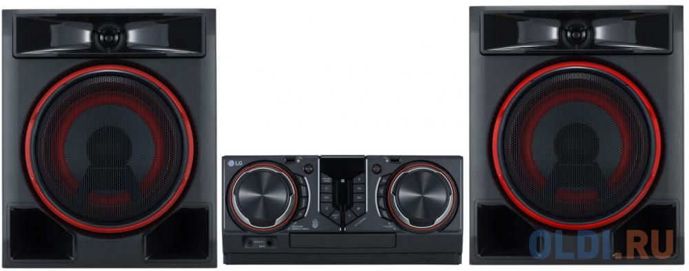 Минисистема LG CL65DK черный 950Вт/CD/CDRW/FM/USB/BT (в комплекте: диск 2000 песен) фото