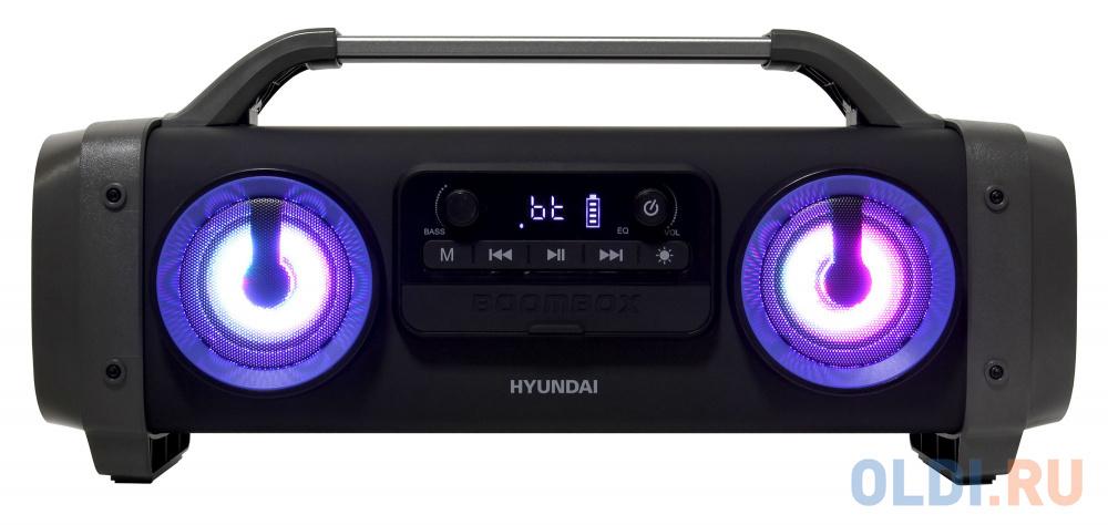 Фото - Аудиомагнитола Hyundai H-PCD400 черный 28Вт/MP3/FM(dig)/USB/BT/microSD аудиомагнитола telefunken tf srp3503b серый 6вт mp3 fm dig usb bt sd