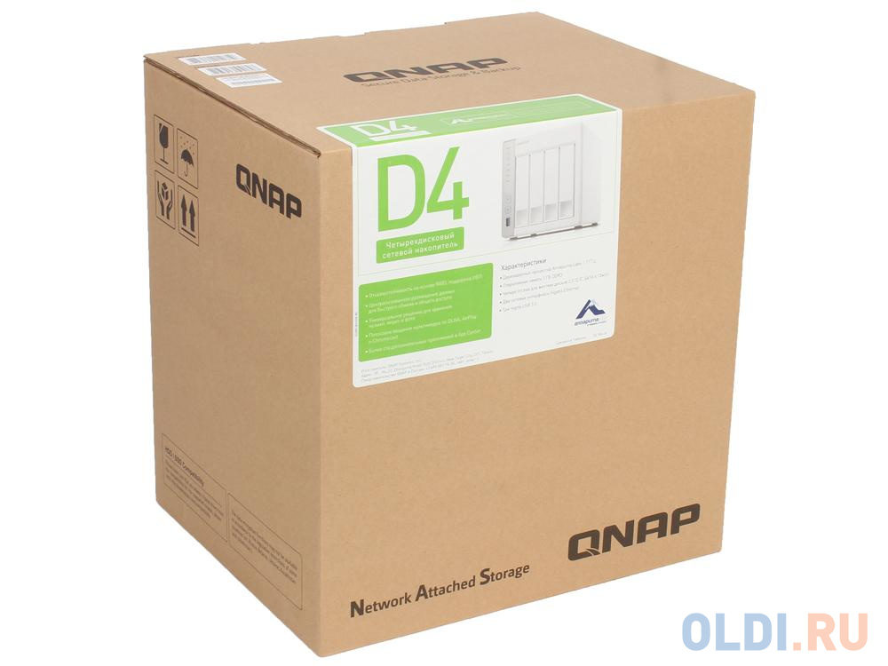Сетевое хранилище QNAP D4