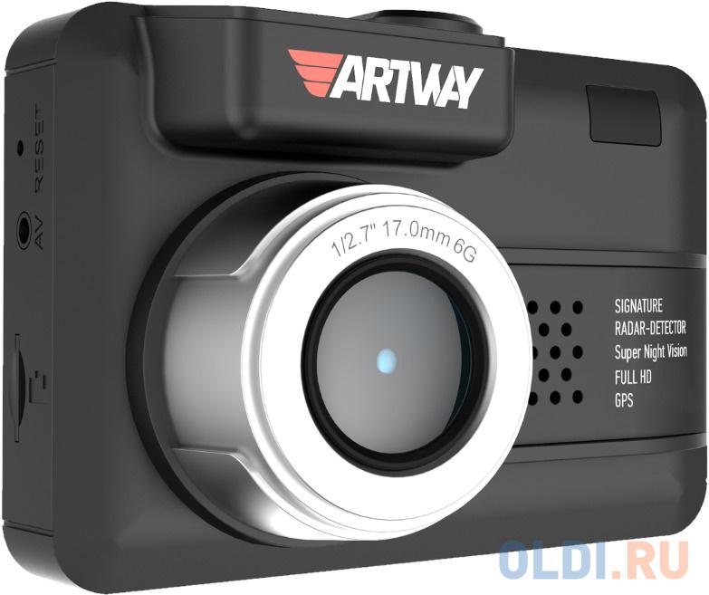 Видеорегистратор с радар-детектором Artway MD-107 GPS недорого