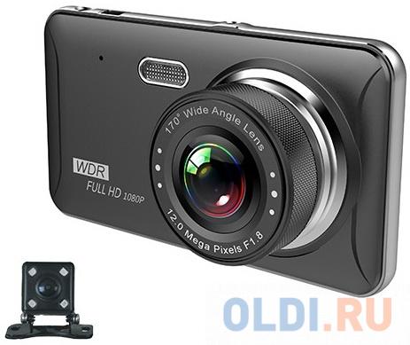 Видеорегистратор Sho-Me FHD-925 черный 3Mpix 1080x1920 1080p 170гр. JL5601 автомобильный видеорегистратор sho me fhd 350