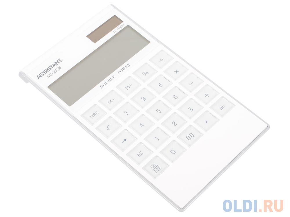 Калькулятор настольный Assistant AC-2326 12-разрядный фото