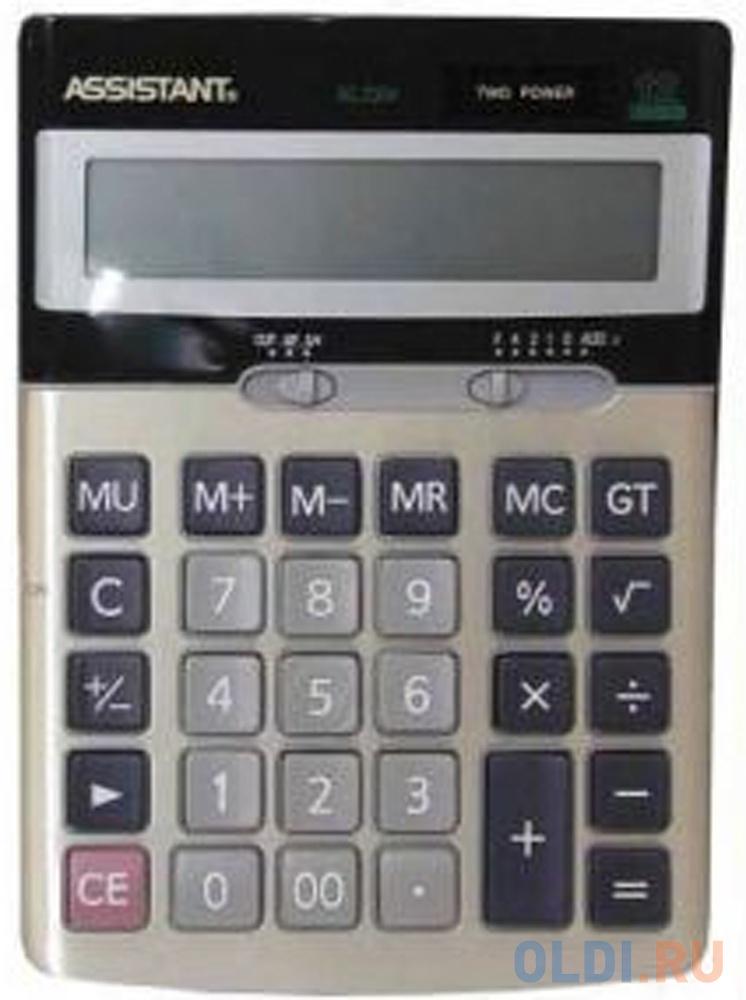 Калькулятор настольный Assistant 12-разрядный assistant
