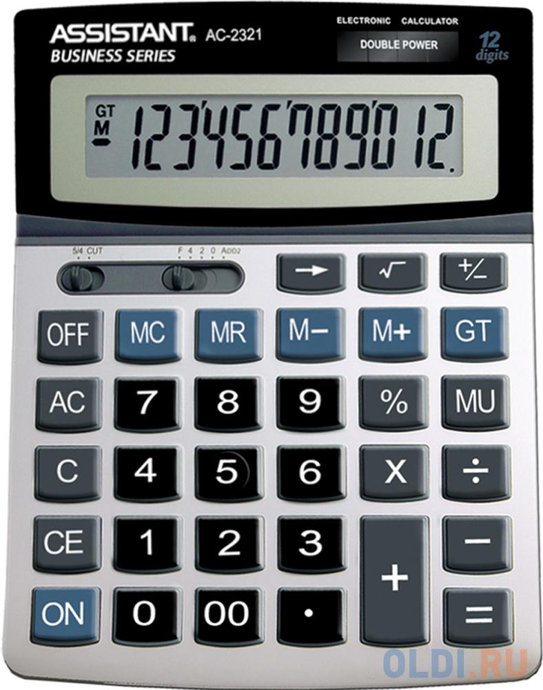 Калькулятор настольный Assistant 12-разрядный AC-2321 assistant