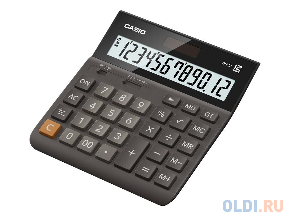 Калькулятор Casio DH-12-BK-S-EH 12-разрядный