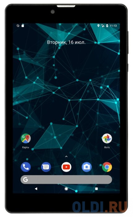 Фото - Планшет Digma CITI 7587 3G 7 16Gb Black 3G Wi-Fi Bluetooth Android PS7204MG планшет prestigio wize 4227 3g dark grey pmt42273gcru spreadtrum sc7731e 1 3 ghz 1024mb 8gb 3g wi fi bluetooth cam 7 0 1024x600 android