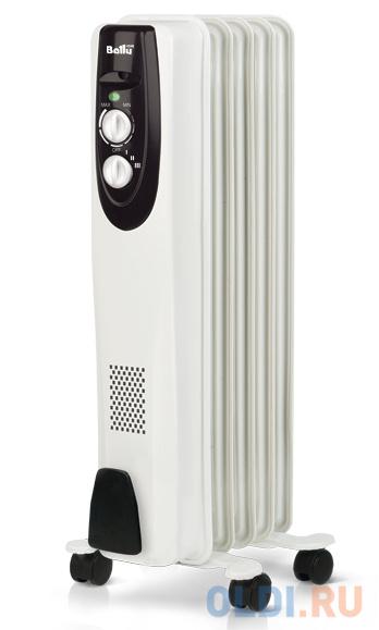 Масляный радиатор BALLU Classic BOH/CL-05WRN 1000 Вт белый масляный обогреватель ballu boh cl 07wrn