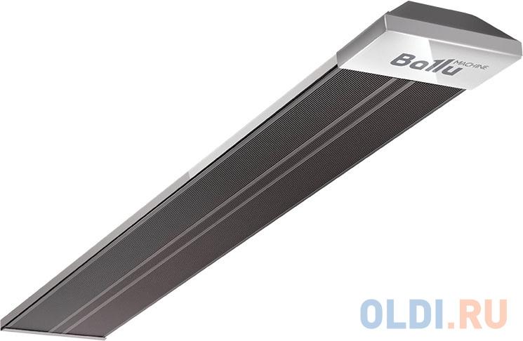 Инфракрасный обогреватель BALLU BIH-AP4-2.0-B 2000 Вт чёрный серый обогреватель инфракрасный ballu bih ap4 1 0 b