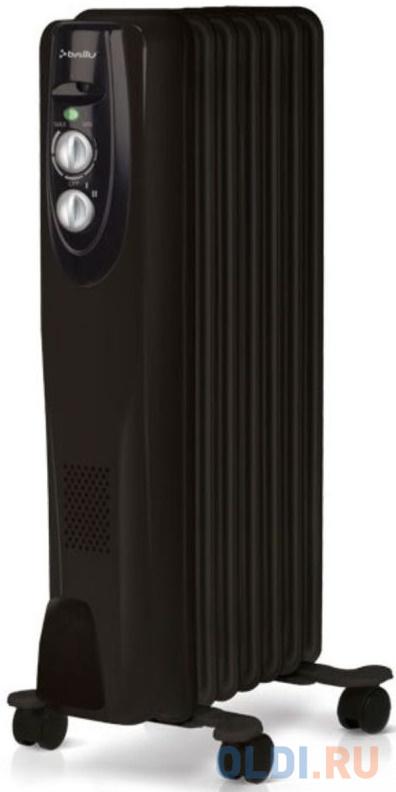 Масляный радиатор BALLU BOH/CL-07BRN 1500 Вт чёрный масляный обогреватель ballu boh cl 07wrn