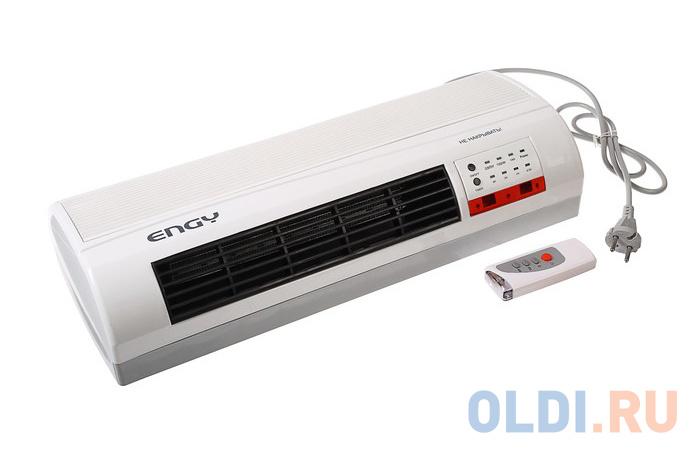 Тепловентилятор Engy № 07 2000 Вт белый тепловентилятор engy en 510
