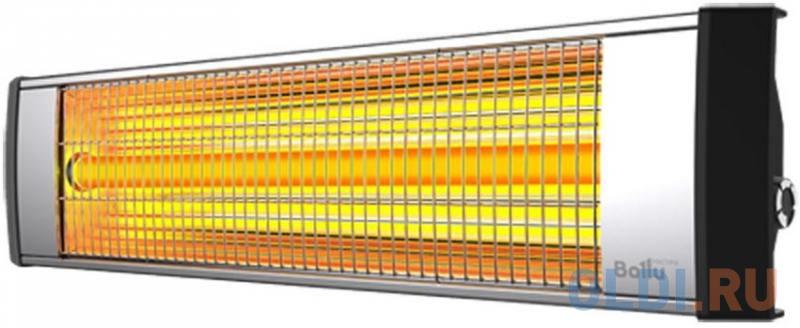 Инфракрасный обогреватель BALLU BIH-L-3.0 3000 Вт серебристый чёрный инфракрасный обогреватель ballu bih s2 0 6