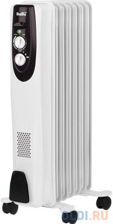 Масляный радиатор BALLU BOH/CL-07WRN 1500 Вт белый недорого