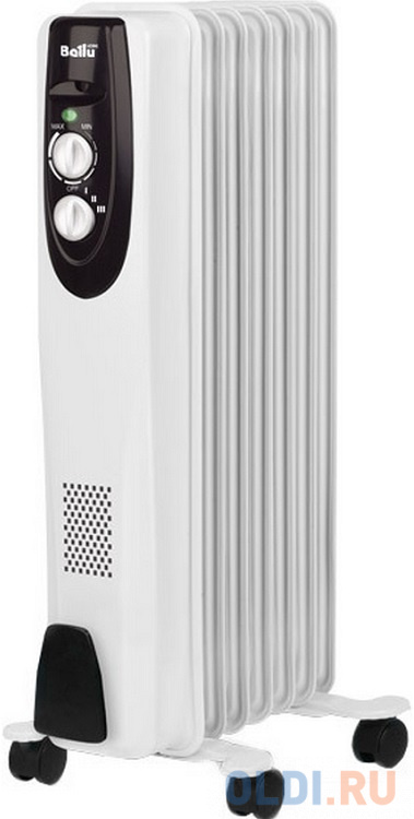 Масляный радиатор BALLU BOH/CL-07WRN 1500 Вт белый масляный обогреватель ballu boh cl 07wrn