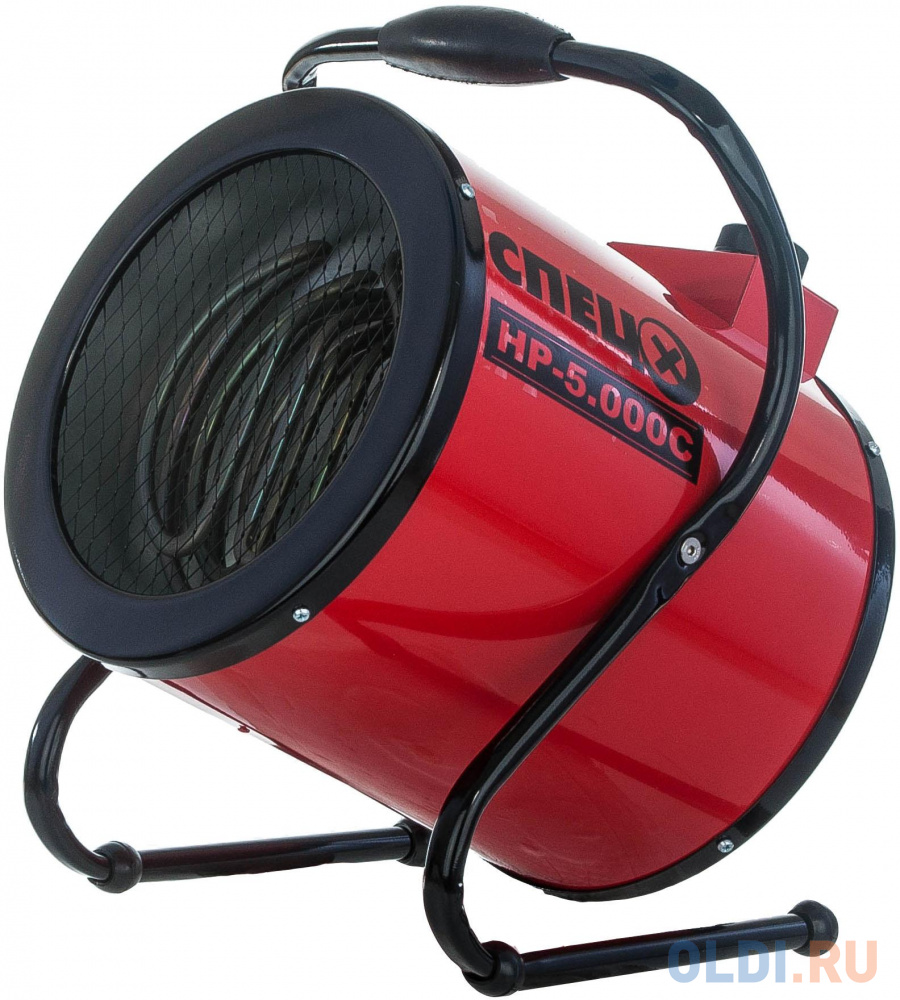 Тепловая пушка СПЕЦ HP-5.000C 4500 Вт красный чёрный.