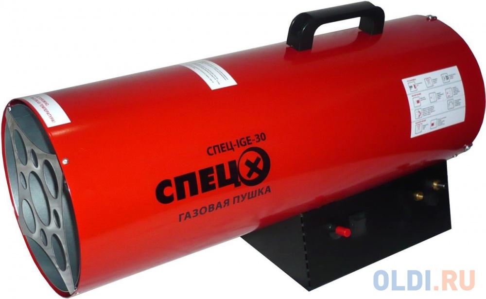 Тепловая пушка газовая Спец СПЕЦ-IGE-30 33000Вт красный/черный.